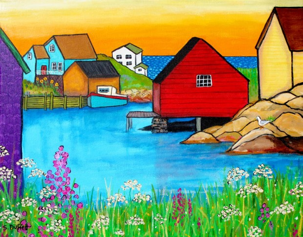 SummersolsticePeggysCove2012